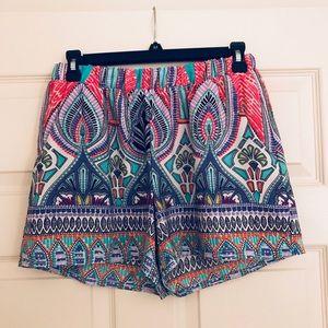 Multi-colored shorts!